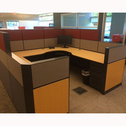 Used Office Cubicles Allsteel Terrace Workstations At Furniture Finders