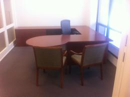 Used Knoll Reff U Desks