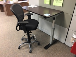 Pneumatic Height Adjustable Table/Desk