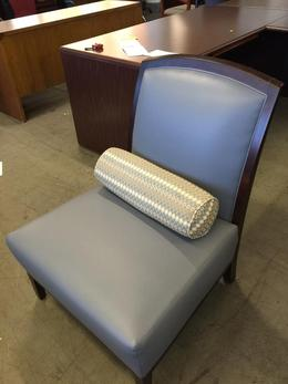 CONTEMPORARY STYLE CLUB CHAIR- Blue