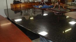14' Black Granite Conference Table