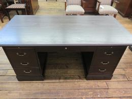 Refurbished Office Desks Refinished Inwood Desk At