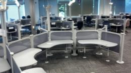 5X6 Herman Miller Resolve stations, benching