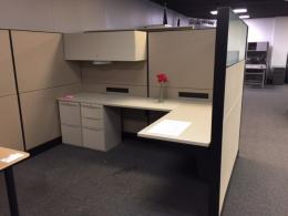 Used Teknion Leverage 5X8 office cubicles