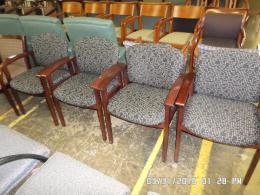 Used HON side chairs