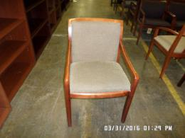 Used Knoll Wood Framed side chairs