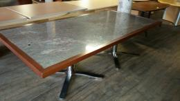 8u0027 marble conference table