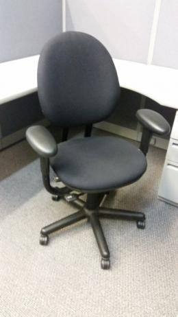 Steelcase Criterion High Back Chairs Black