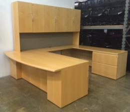 Used Knoll Reff Executive U Shaped Desk Dallas Texas (TX)