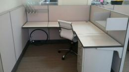 New Friant Office Cubicles Installed
