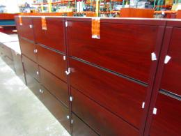 New HON four drawer files