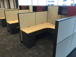 Installed Used Office Cubicles in Dallas area