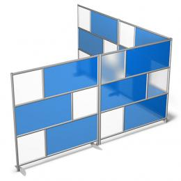 Office Dividers - Lightweight Mobile Dividers