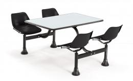 OFM Cluster Table with Laminate Top