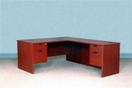 Used Del Ray Series Desk and Return