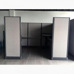 Knoll Workstation Cubicle with Standing Desk