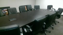 12 ft Conference Table with Power & Data