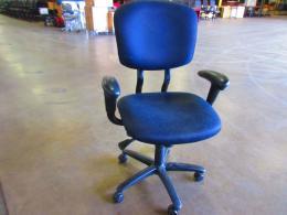 Haworth Improv black task chairs