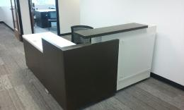 ** New ** Reception Desk with Glass