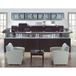 Used Office Reception Area Sales Counter Reception Desk