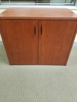 Cherryman Mocha Cherry 2 door storage cabinet