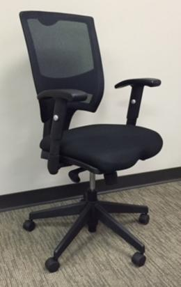 Used Alera Task Chair with Black Mesh Back