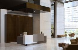 Strata- New Modern Reception Desk by JSI