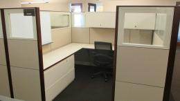 Beautiful Pre-Owned Kimball Cubicles Houston