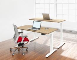 Single Height Adjustable Desk