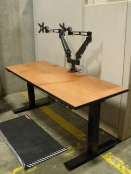 Electric Height Adjustable Desks In Seattle Used Office Furniture Seattle C26