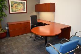 Knoll Reff Medium Cherry Private Office
