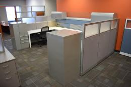 Knoll Morrison/Currents Dual Workstations