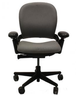 Steelcase Leap V1 Task Chairs in Domino/Sky