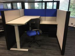 Herman Miller Cubicles - Glass and Sit/Stands