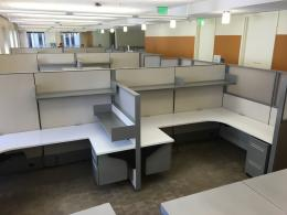 Haworth Compose 8 x 6 Workstations