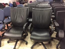 OFS Number 9 Exec/Conference Chairs - Leather