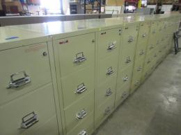 FireKing 4 drawer vertical legal31 inch files