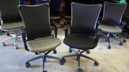 Allsteel #19 Executive Mesh Back Task Chair