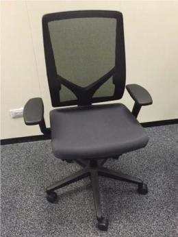 Used Office Chairs Allsteel Relate Mesh Back Task Chairs