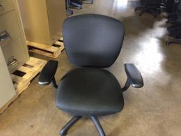 Sit On It task chairs Black