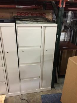 Used Steelcase Personal Storage Towers