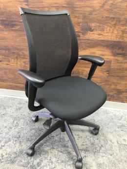 Haworth Improv Task Chair with new arm caps