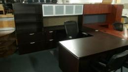 New Laminate U Shaped Desk Sets