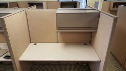 AllSteel 5.5' x 3' Telemarketing Cubicles