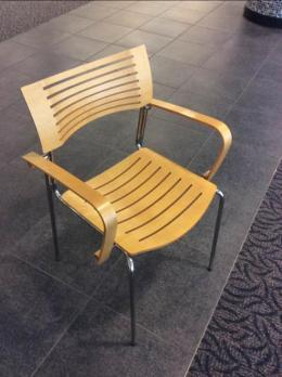 Fritz Hansen Cafe Chairs Runner Chair