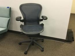 Blue and Green Aeron Chairs