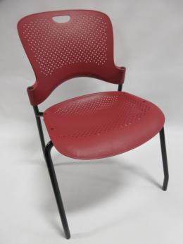 Herman Miller Red Caper Stacking Chairs