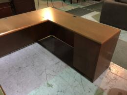 OFS Cherry U-Shape Desk