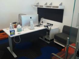 Allsteel E-Hat L-Desk 6' x 6'