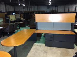 Haworth Cherry  Desks